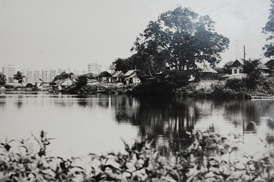 Белкинские пруды в пригороде Обнинска в советское время