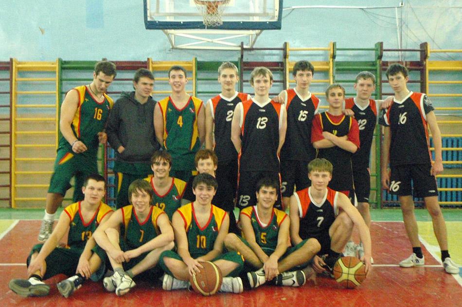 Игроки баскетбольного клуба «Обнинск»