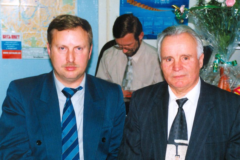 Николай Николаевич Бок и Яков Андреевич Александров