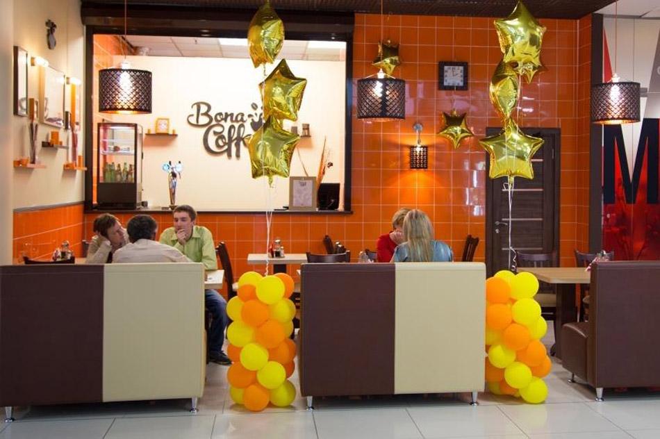 Кафе «Бона Кофе» (Bona Coffee) в городе Обнинске