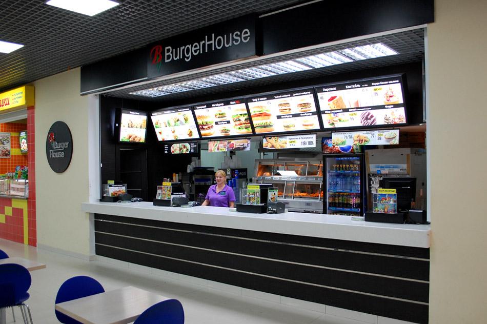 Ресторан «Бургер Хаус» (Burger House) в городе Обнинске