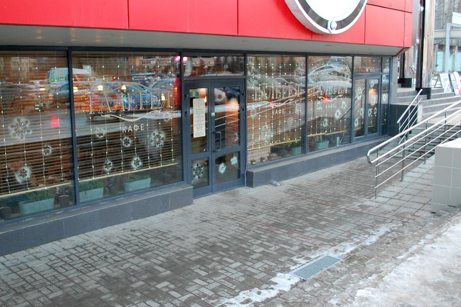 Кафе «Галерея» в городе Обнинске