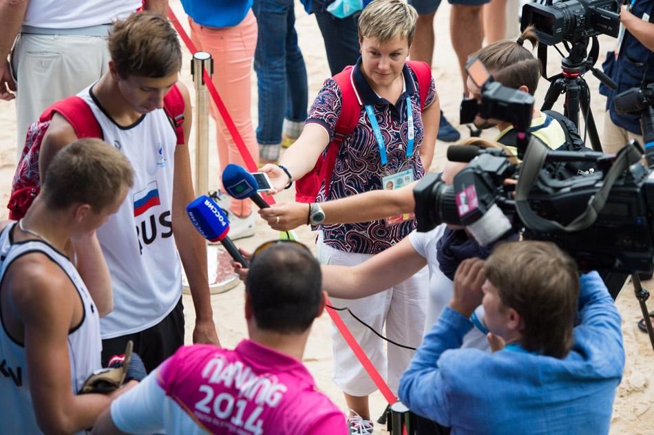 Обнинские волейболисты продолжат борьбу в полуфинале юношеской Олимпиады