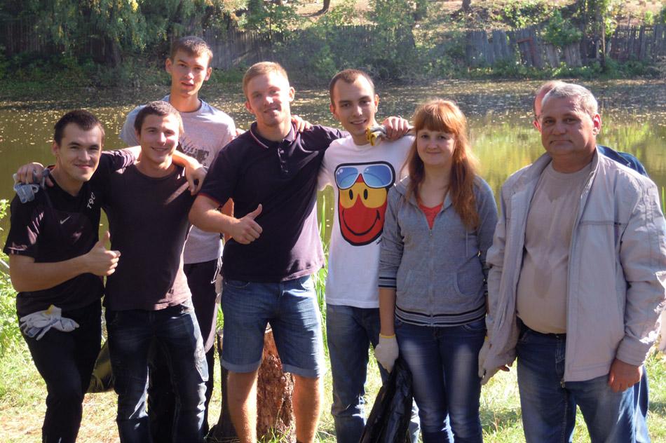 На территории Обнинска прошло мероприятие в рамках Всероссийской экологической акции «Чистый берег»