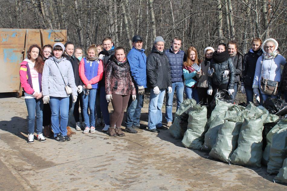 Экологическая акция «Чистый город» в городе Обнинске