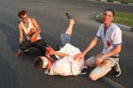 Мероприятие «Zombie Mob» на празднике «День города» в 2010 году в городе Обнинске