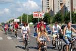 Велопробег на «День города» в 2011 году в городе Обнинске