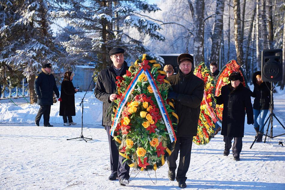 Город отмечает день освобождения земли Обнинской