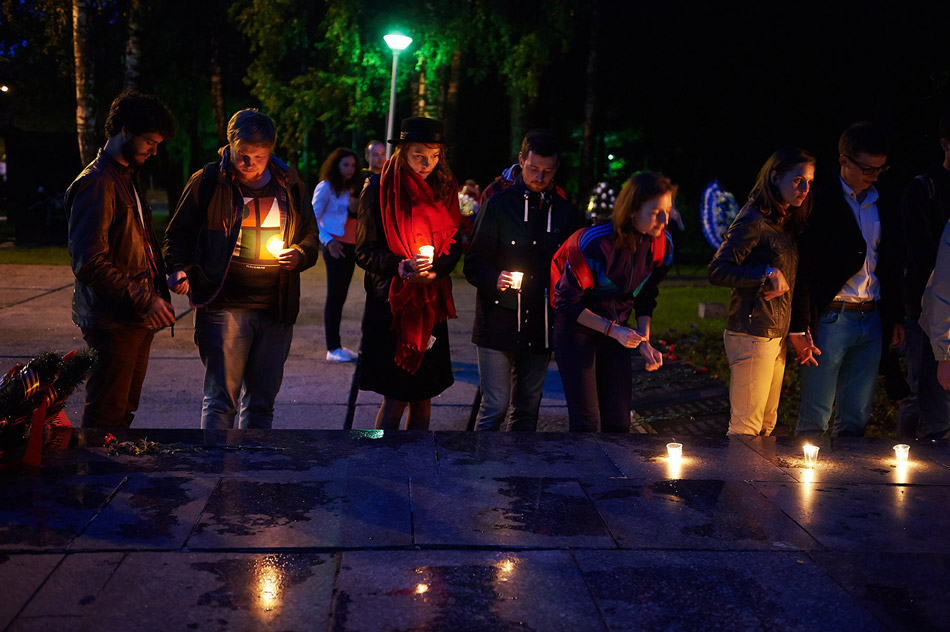 В Обнинске отмечался День памяти и скорби