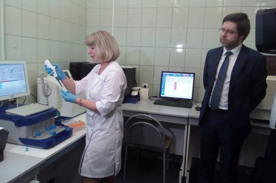 Денис Геннадьевич Ошев в Калужской областной клинической детской больнице