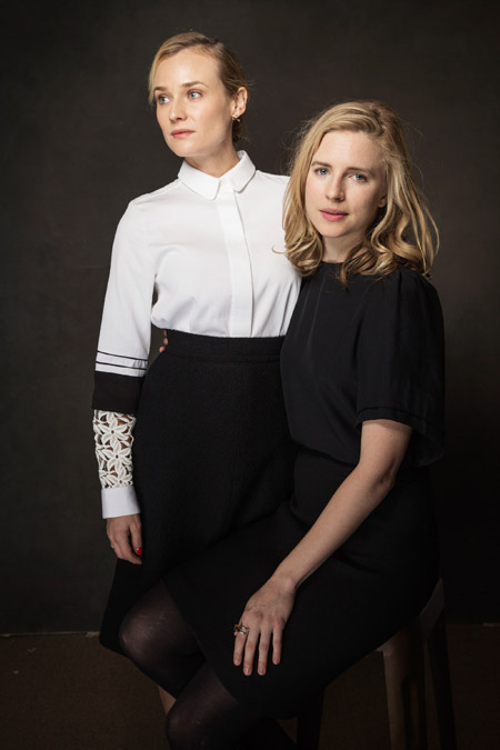 Диана Крюгер и Брит Марлинг