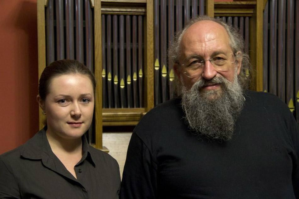 Дина Олеговна Соловьёва и Анатолий Александрович Вассерман