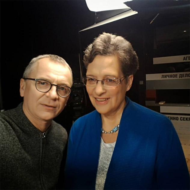 Дмитрий Павлович Губин и Фредерика де Грааф
