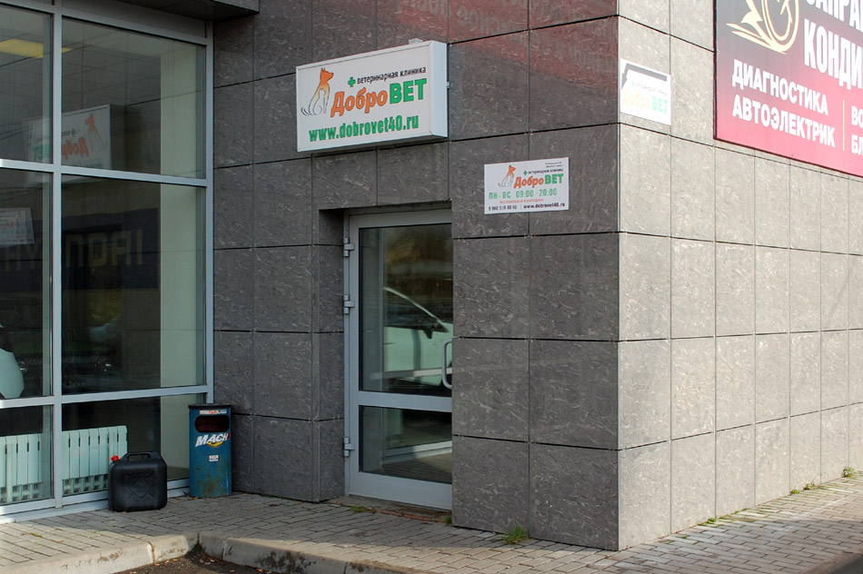 Ветеринарная клиника «Добровет» в городе Обнинске