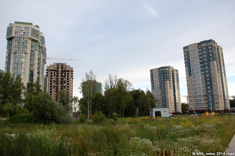 Жилые комплексы «Солнечная Долина» и «Зелёный остров» в городе Обнинске