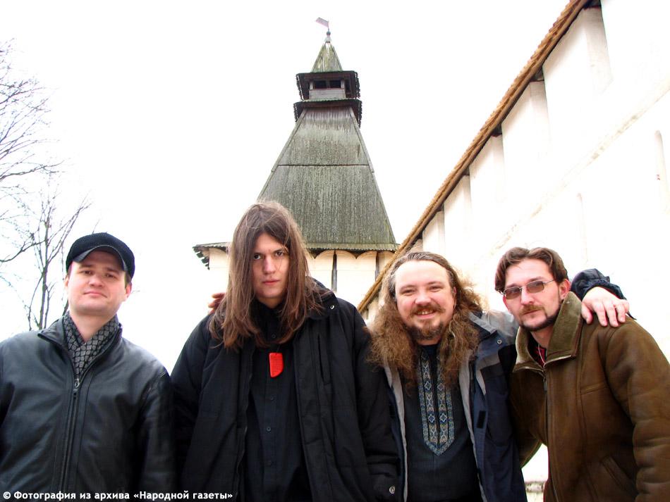 Музыкальная группа «Дорога Водана» в городе Обнинске