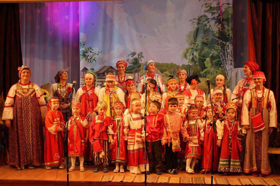 Фольклорный ансамбль «Друженька» в городе Обнинске