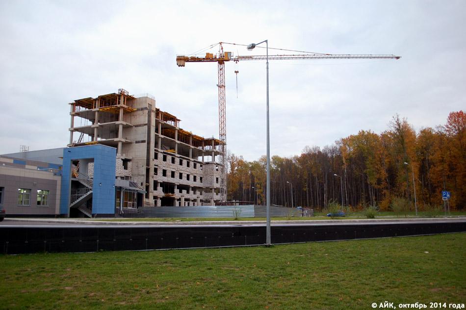 Расширение дворца спорта «Олимп» в городе Обнинске