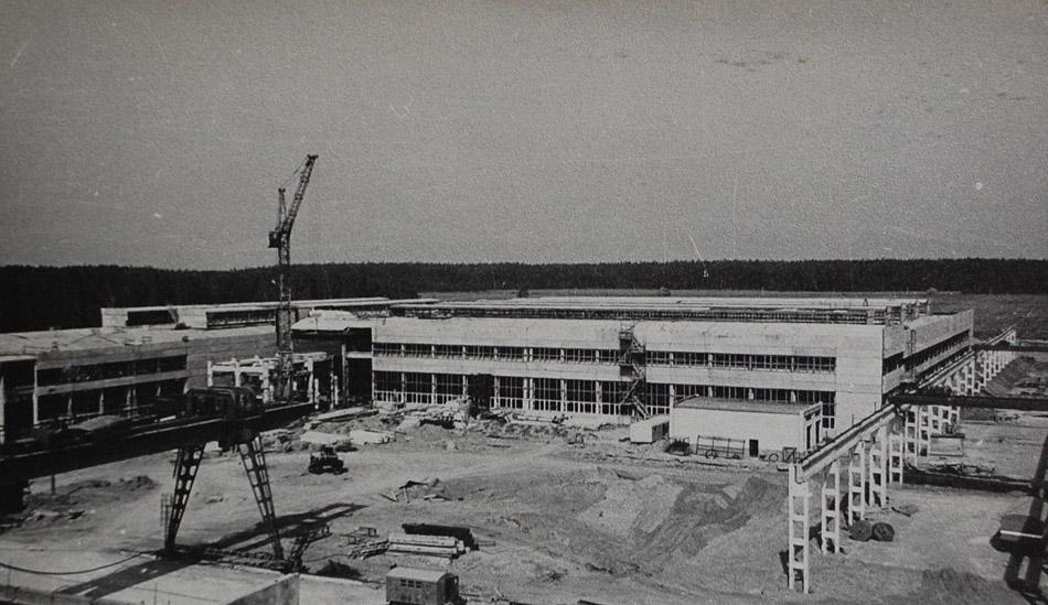 Строительство домостроительного комбината (ДСК) в городе Обнинске