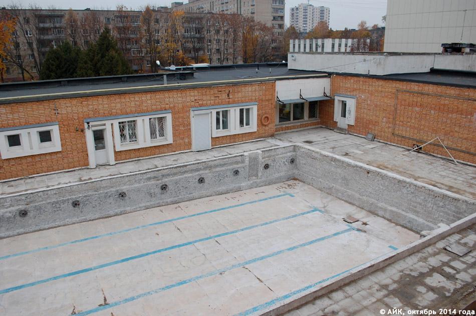 Ремонт открытого бассейна Дворца спорта в городе Обнинске