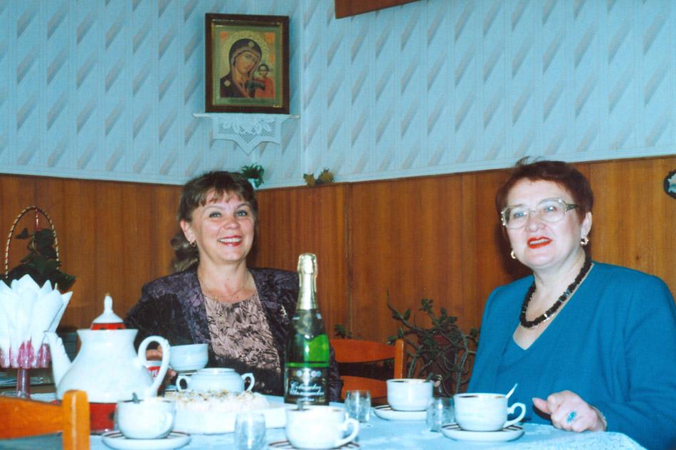 Ирина Владимировна Ефимкова и Марина Ивановна Малявкина