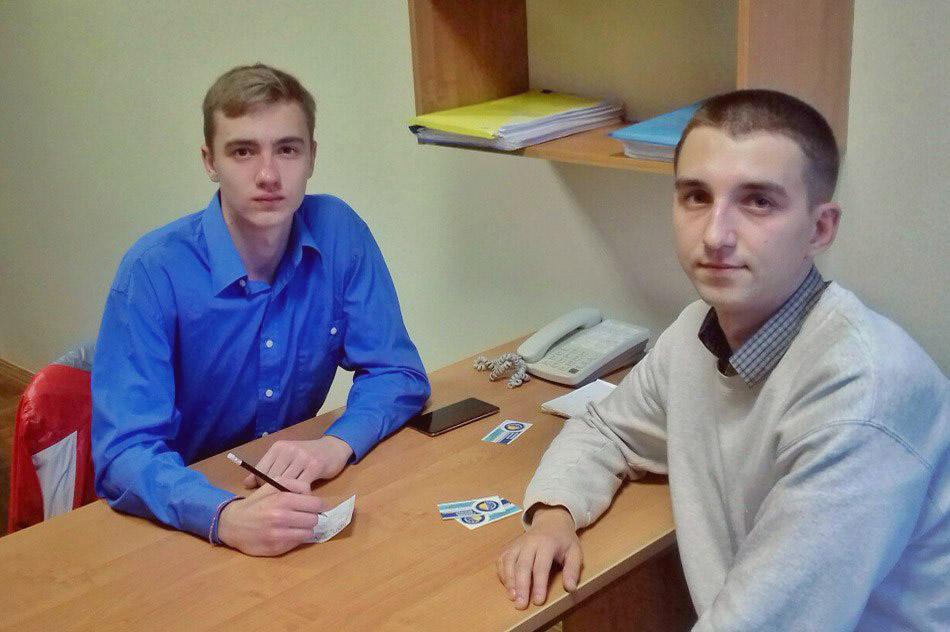 Первая рабочая встреча Егора Алексеевича Колобова и Дмитрия Александровича Казакова (6 сентября 2017 года)