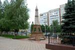 Эйфелева башня в городе Обнинске