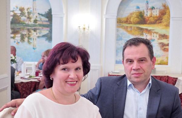 Елена Георгиевна Лошакова и Игорь Евгеньевич Лошаков