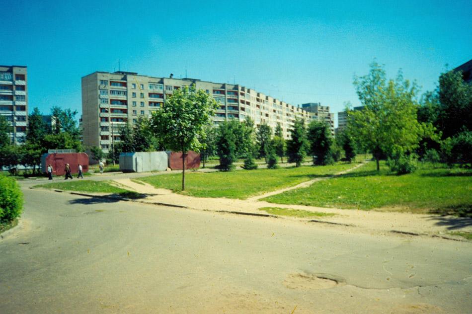 Место, на котором появился продуктовый магазин «Вкус» в городе Обнинске