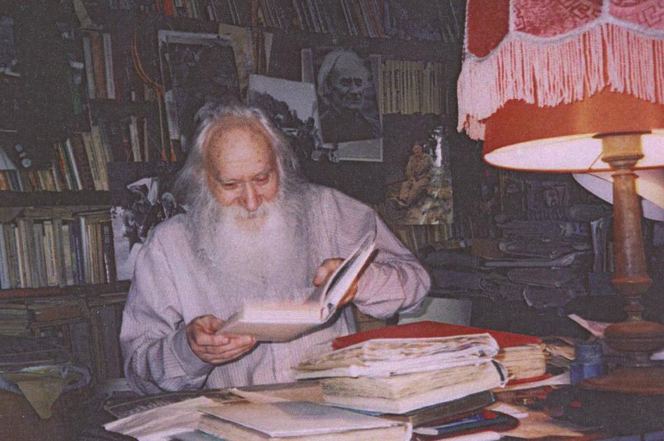 Евгений Фёдорович Ворожейкин в 2004 году
