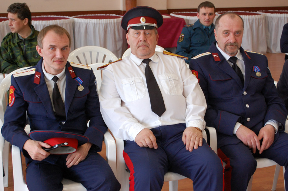 Дмитрий Егорович Фатюшин, Евгений Романович Разумовский и Николай Михайлович Ветров