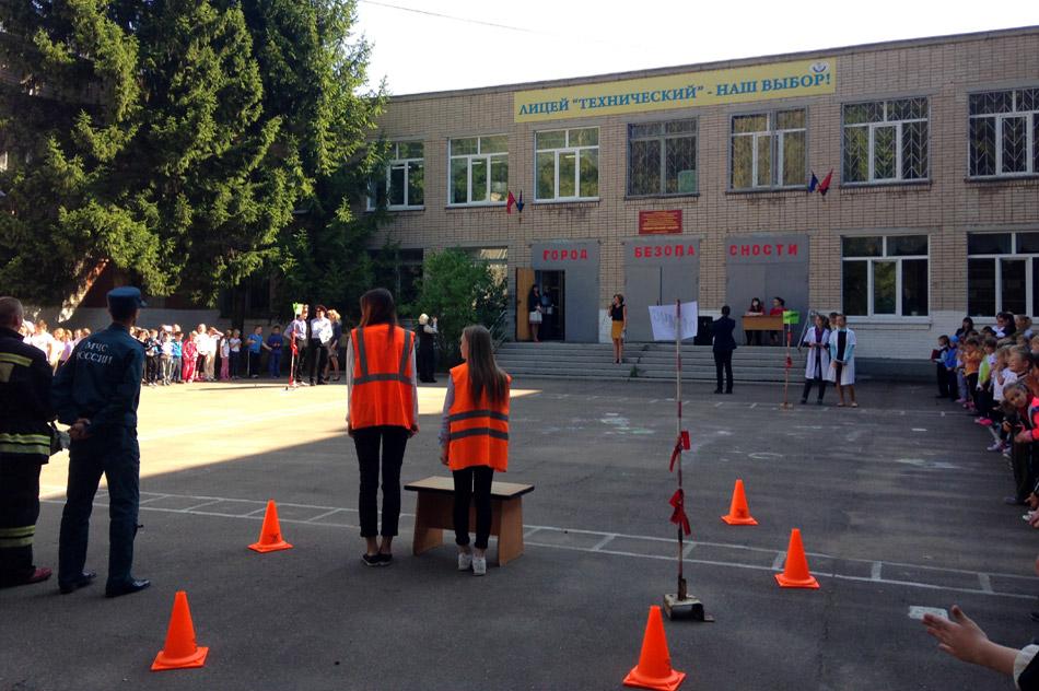 В Обнинске прошли занятия по пожарной безопасности для детей