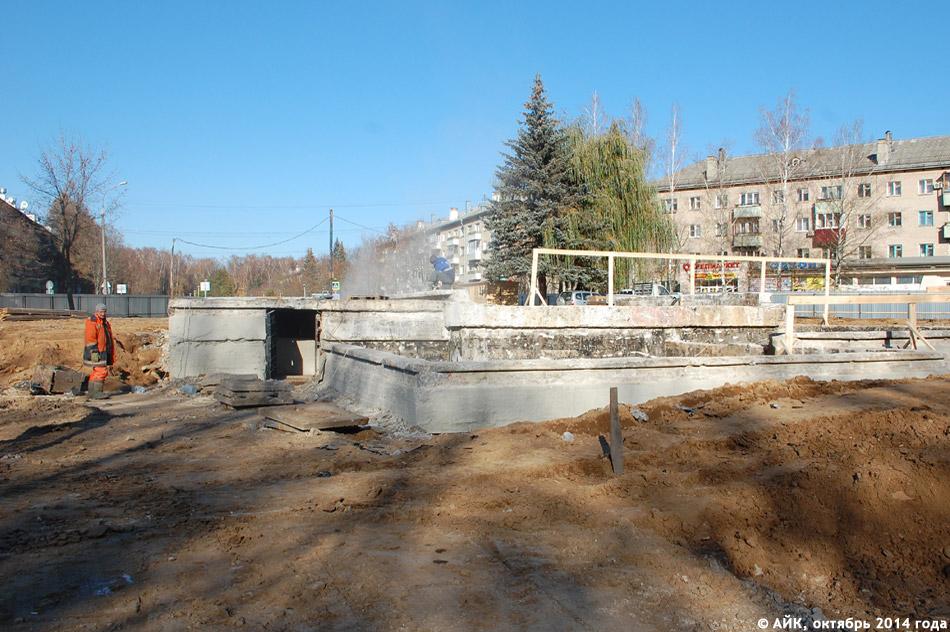 Масштабная реконструкция большого фонтана в городе Обнинске