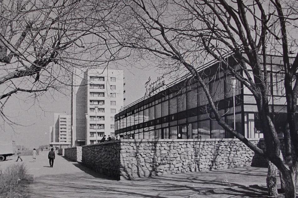 Торговый центр в городе Обнинске в советское время