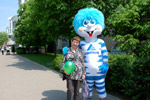 Празднование 20-летия «Газэнергобанка» в мае 2015 года в городе Обнинске