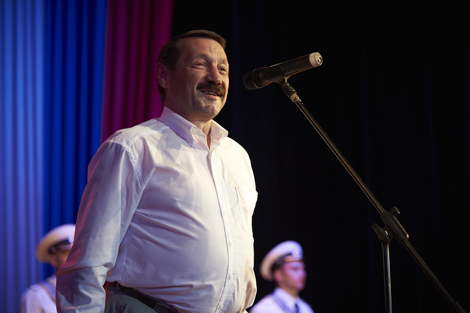 Геннадий Иванович Скляр в 2016 году на праздновании 60-летия Учебного центра ВМФ «Военно-морская академия»