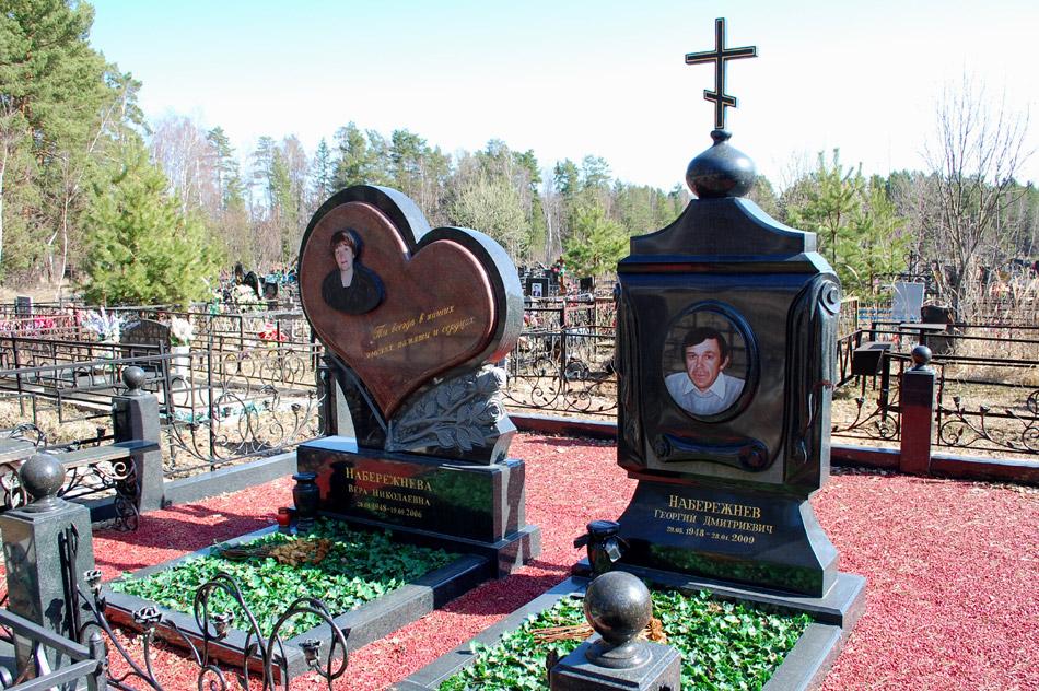 Могила Георгия Дмитриевича Набережнева на кладбище «Передоль»