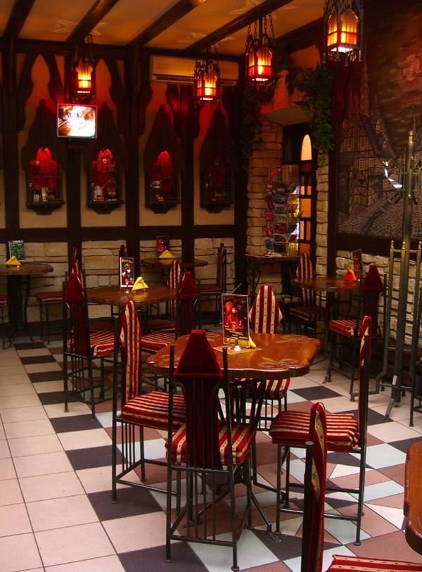 Кофейня «Готика» в городе Обнинске