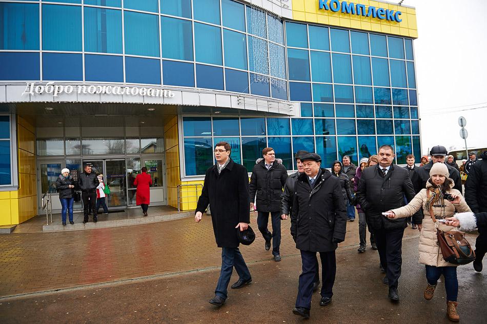 Губернатор осмотрел обнинские строительные площадки