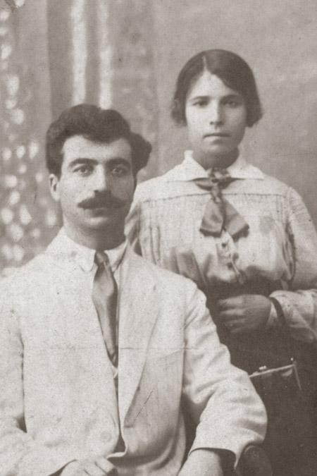 Иван Георгиевич Майнас и Мария Никифоровна Майнас