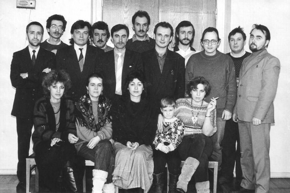 Редакция газеты «Калуга вечерняя» (23 февраля 1994 года)