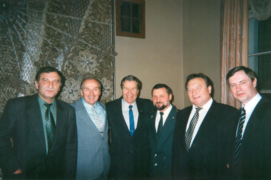 Празднование дня работников органов безопасности (20 декабря 1996 года)