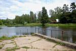 Комсомольские пруды в городе Обнинске