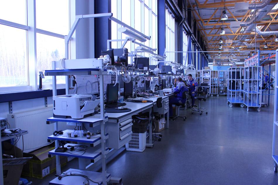 Производственные помещения компании «Крафтвэй» (Kraftway) в городе Обнинске