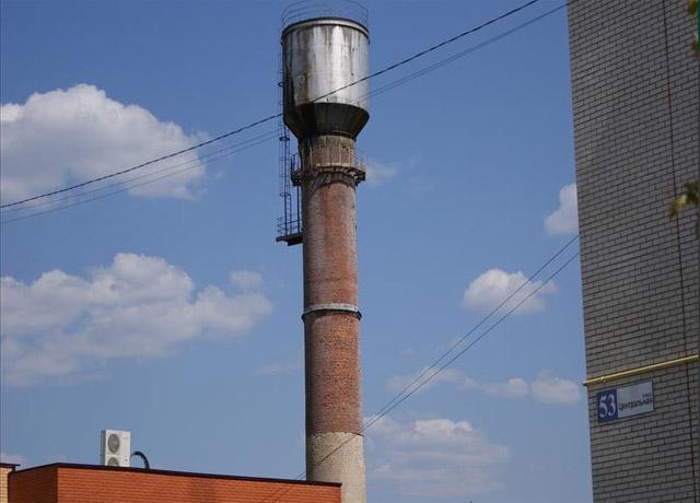Водонапорная башня в Кривском