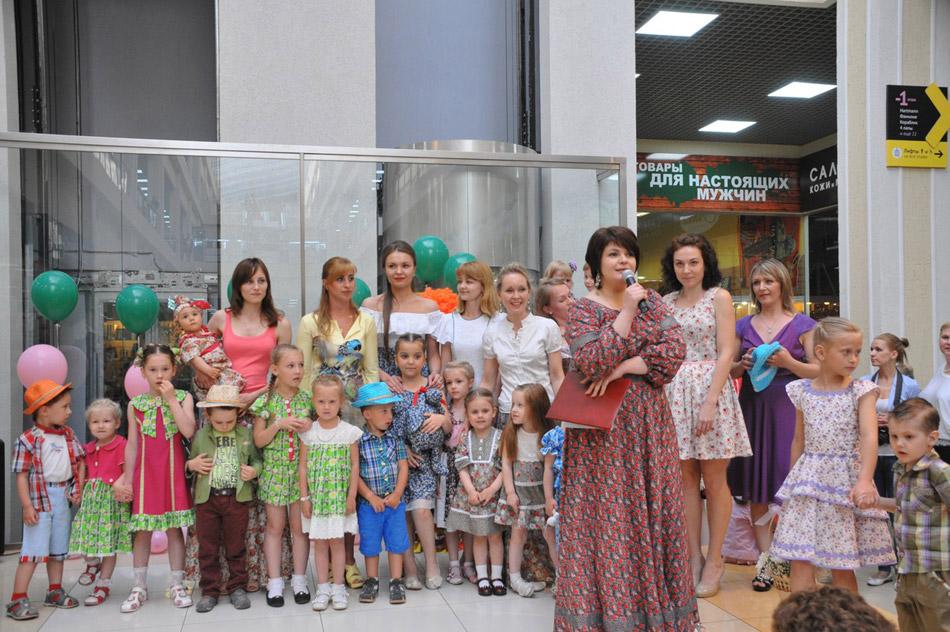 Лилия Дудина организовывала показ на первом этаже «Триумф Плазы» в городе Обнинске