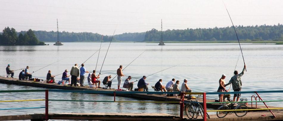 Озеро Ломпадь в Калужской области