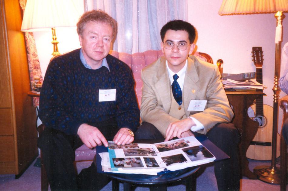 Олег Павлович Лукша и Павел Владимирович Сушков (1998 год, визит в город Ок-Ридж)