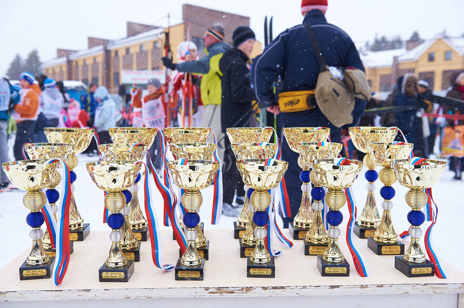 В Обнинске состоялись массовые соревнования «Лыжня России — 2015»