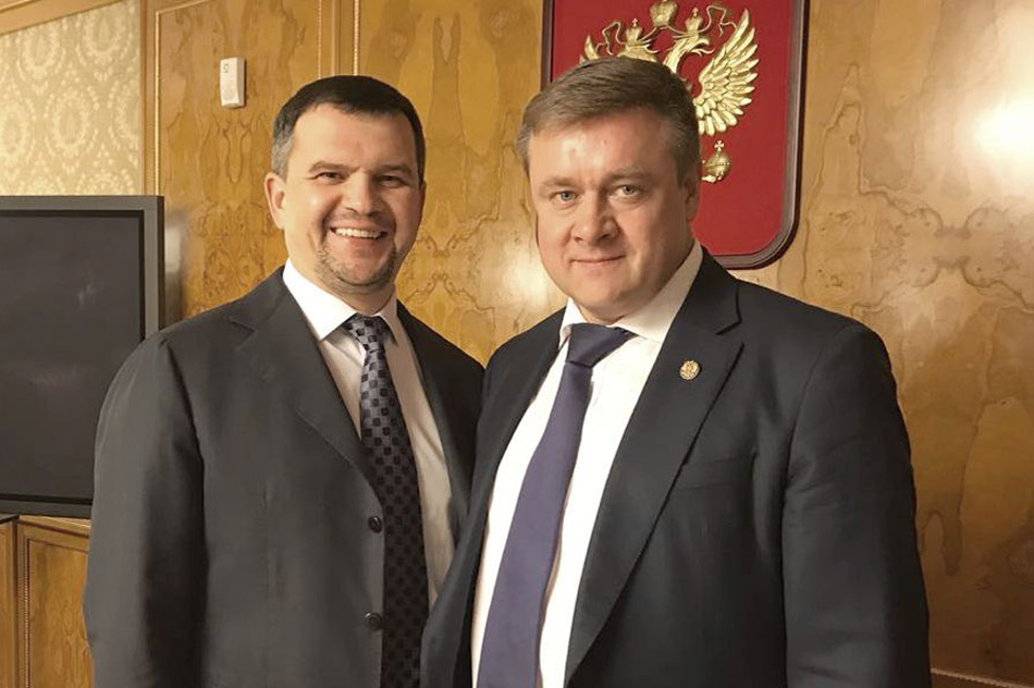 Максим Алексеевич Акимов и Николай Викторович Любимов